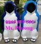 Thùng rác chim cánh cụt-gấu trúc để ở công viên, đường phố cực đẹp