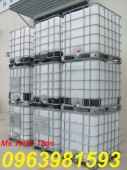 Cung cấp thùng đựng hóa chất, tank 1000l, tank IBC 1000 lít giá rẻ