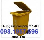 thùng rác 120l, thùng rác, thùng đựng rác, xe rác, thùng rác giá rẻ,