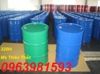 Cung cấp thùng phuy sắt, thùng phuy 220 lít, thùng phuy đựng hóa chất