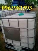 Cung cấp thùng chứa hóa chất, bồn chứa hóa chất, bồn nhựa 1000 lít giá rẻ