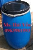 Chuyên cung cấp phuy nhựa làm bè, thùng phuy đựng dầu, phuy đựng dung môi công n
