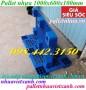 Pallet nhựa 1000x600x100mm giá rẻ, siêu cạnh tranh call 0984423150 Huyền