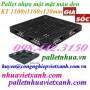 Pallet nhựa đen 1100x1100x120mm hàng mới giá siêu rẻ call 0984423150 Huyền