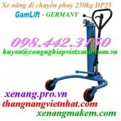 Xe nâng di chuyển phuy 250kg DP25 Gamlift giá rẻ call 0984423150 – Huyền