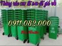 Thùng rácnhựa nắp kín giá sỉ lẻ- thùng rác 120l 240l 660l giá rẻ tại đồng nai-