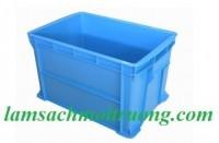 Hộp nhựa B6, thùng nhựa B6, sóng nhựa bít, hộp nhựa cơ khí, hộp nhựa công nghiệp