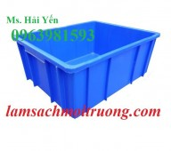 Cung cấp thùng nhựa đựng vật tư, thùng nhựa đựng linh kiện giá rẻ