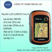 Máy định vị GPS Garmin eTrex 20