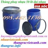 Thùng phuy nhựa 50 lít giá siêu rẻ call 0984423150 – Huyền