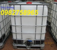 Bán tank nhựa công nghiệp, thùng chứa 1000l, thùng hóa chất giá rẻ