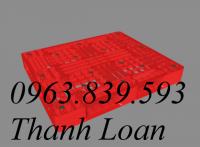 Cc pallet nhựa - pallet nâng hàng giá rẻ tại TP. HCM - LH: 0963.839.593 Loan