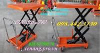 Xe nâng bàn 800kg nâng cao 1300mm giá siêu rẻ, giảm giá cực sốc call 0984423150