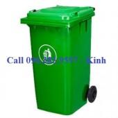 bán thùng rác ở cần thơ, công ty sản xuất thùng rác composite, thùng rác 120l