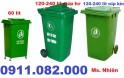 Nơi bán thùng rác rẻ nhất, thùng rác nhựa 120 lít 240 lít nắp kín- 0911.082.000