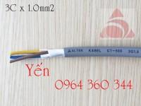 Cáp tín hiệu chống nhiễu lõi nhiều màu Altek kabel giá đại lý