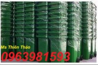 thùng rác y tế 240l, thùng rác sử dụng trong bệnh viện, thùng rác rẻ,