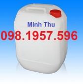 Cung cấp can nhựa giá rẻ, can nhựa vuông 20 lít, can đựng hóa chất, can 30 lít