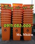 Phân phối thùng rác 120 lít 240 lít 660 lít giá rẻ tại đồng tháp- lh 0911.082.00