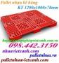 Pallet nhựa kê hàng 1200x1000x78mm PL03LS giá cạnh tranh call 0984423150 Huyền