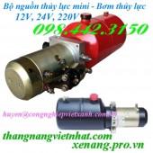 Bộ nguồn thủy lực mini 12V – 24V – 220V giá rẻ, siêu cạnh tranh call 0984423150