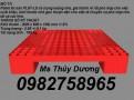 Pallet đơn, pallet nhựa, pallet dùng trong các kho hàng giá rẻ