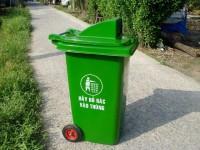Thùng rác 240 lít, thùng rác công nghiệp, thùng rác y tế giá rẻ tại TPHCM