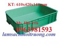 Thùng đựng đồ cơ khí, thùng nhựa đặc, thùng nhựa công nghiệp giá rẻ
