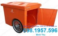 Xe gom rác, xe rác 660 lít GIÁ RẺ