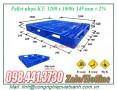 Pallet nhựa 1200x1000x145mm (PL08LK)