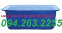 Bán thùng nhựa 700l, thùng nhựa cỡ lớn, thùng nhựa tròn 2000l