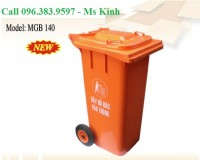 bán thùng rác 120 lít, thùng rác 240l giá rẻ, thùng rác