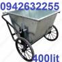 Bán xe gom rác tôn, xe gom rác 400l, xe đẩy rác tay giá rẻ