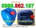 Can nhựa dùng đựng hóa chất dầu nhớt, xăng, phụ gia thực phẩm, phụ gia hóa chất