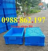 Hộp nhựa đặc B4, thùng nhựa B4 giá rẻ, thùng nhựa đặc B4, Thùng chứa B4,thùng n