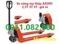 Phân phối xe nâng tay thấp 3 tấn giá rẻ nhất bạc liêu- 0911082000