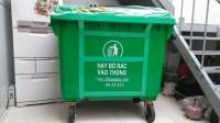 Cuung cấp xe thu gom rác 660 lit