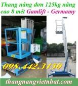 Thang nâng người 125kg nâng cao 8 mét GAMLIFT - Germany hàng có sẵn, giá sốc