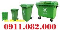 Bán sỉ thùng rác 120L 240L giá rẻ- thùng rác chất lượng giá gốc- 0911.082.000