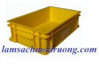 Hộp nhựa B2, hộp nhựa đặc, hộp đựng linh kiện, sóng nhựa giá rẻ