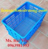 Sọt nhựa giá rẻ, sọt nhựa công nghiệp, sọt nhựa chứa hàng