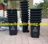Chuyên thùng rác y tế, thùng đựng chất thải, thùng rác bập bênh 60l giá rẻ