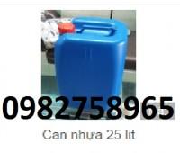 Bán can đựng hóa chất, can nhựa vuông 20l, can tròn, can 30l giá rẻ