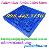 Pallet nhựa 1200x1200x150mm giá rẻ call 0984423150 – Huyền