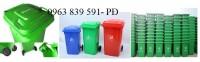 Bán thùng đựng rác môi trường công cộng 120l-240l giá sĩ 0963 839 591