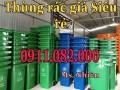 Nơi mua thùng rác 660 lít giá rẻ tại vĩnh long- lh 0911.082.000