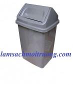 Thùng rác nhựa 45 lít. thùng rác công nghiệp, thùng rác công cộng