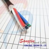 Cáp điều khiển Sangjin 6 x 1.25 SQMM có chống nhiễu
