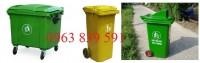 Cung cấp thùng rác trường học,bệnh viện 240l.