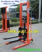 Xe nâng tay cao 500kg nâng cao 1.6m giá siêu rẻ call 0984423150 – Huyền